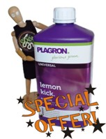 SPECIAL OFFER PLAGRON LEMON KICK 1ltr was £12.00 now £8.00